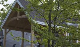 Construction poteaux poutres